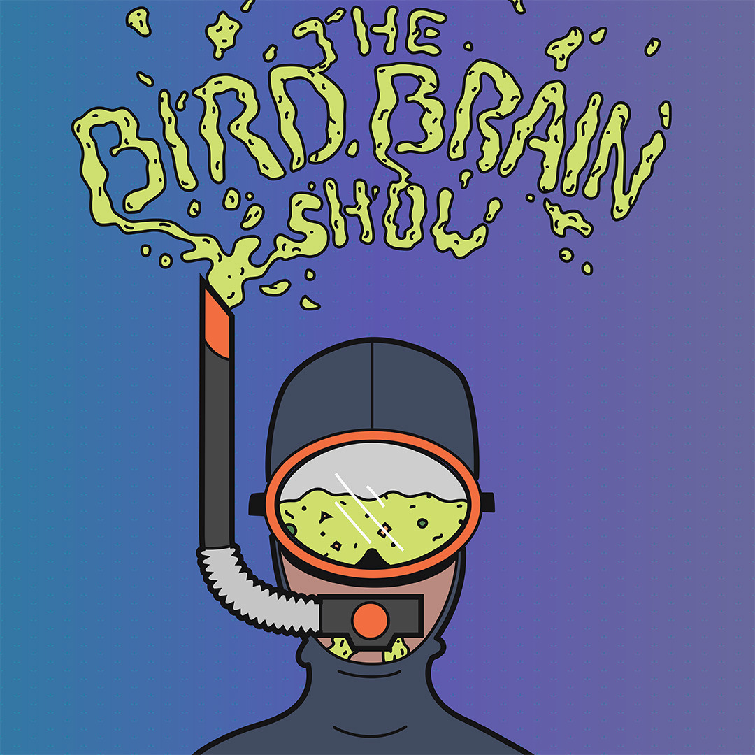 Poster for Bird Brain Comedy Show